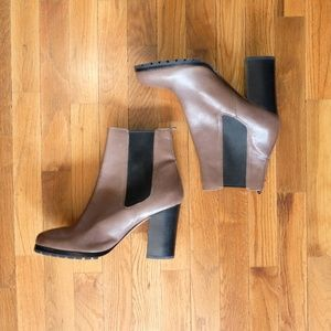 Coach Odelle Leather Brown Boots